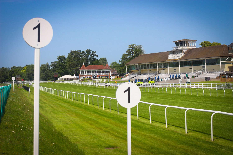 Hospitality box at Lingfield Racecourse
